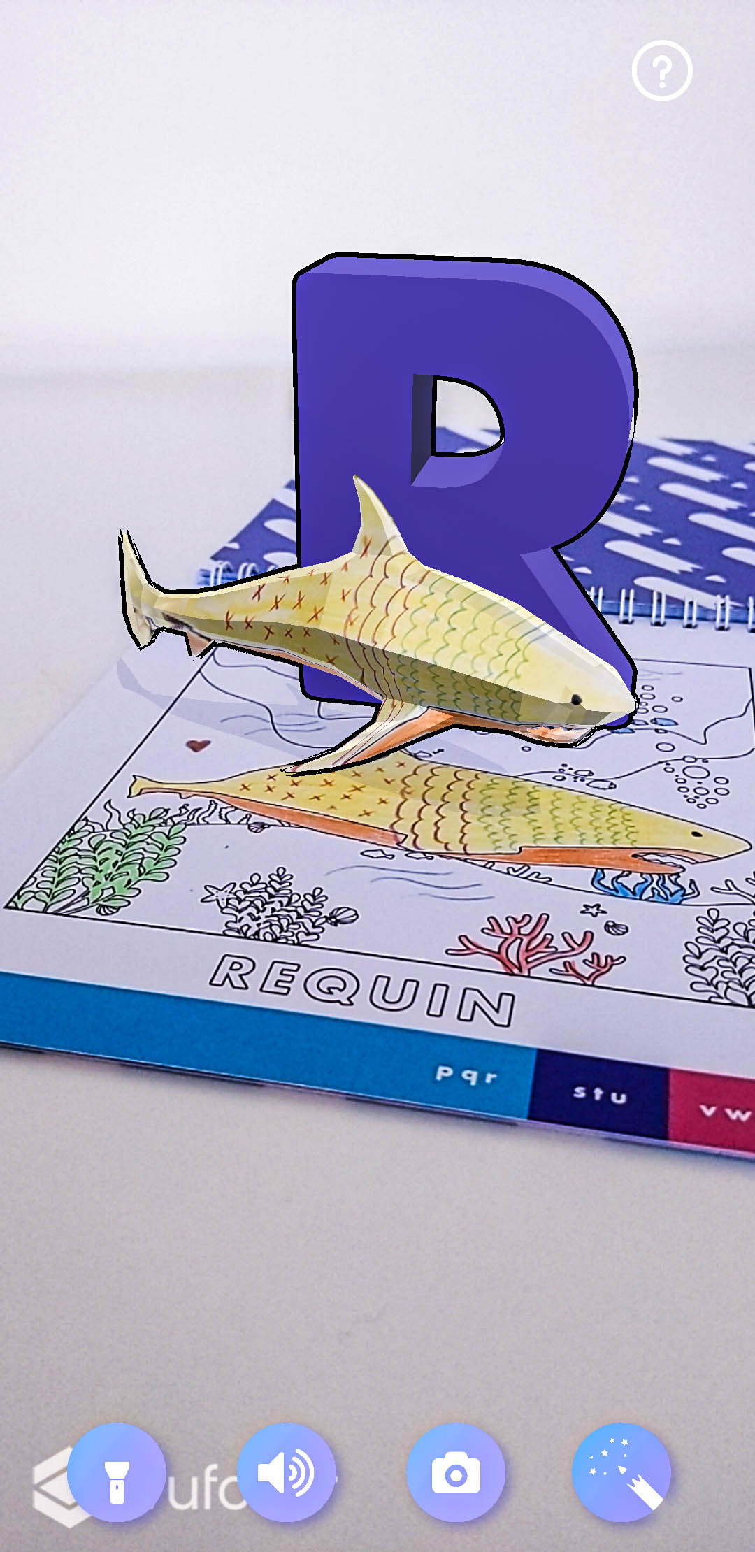 R comme requin